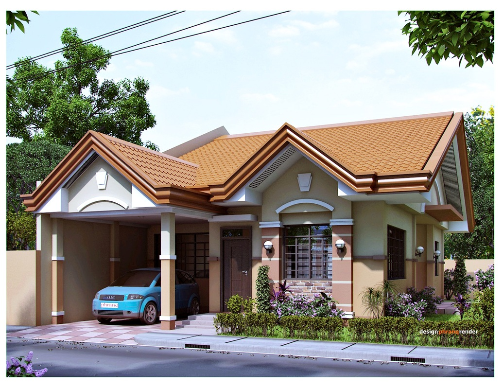 Exterior visualization 3d architectural visualization for Blueprint designs for houses